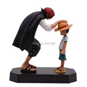 Image 4 - אנימה חתיכה אחת ארבעה קיסרים נקס קש כובע לופי PVC פעולה איור הולך שמח בובת אסיפה דגם צעצוע מתנה לחג המולד