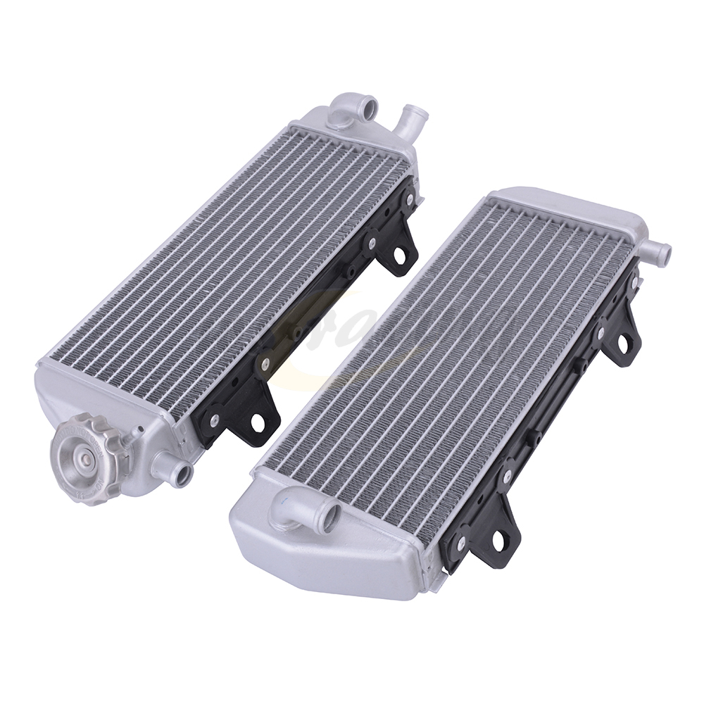 Motorcycle Cooling Water Tank Radiator Cooler For KTM SX SXF XCF 125-450 16-18 XCW SX XC EXCF 150 250 300 350 450 500 2017-2018 image