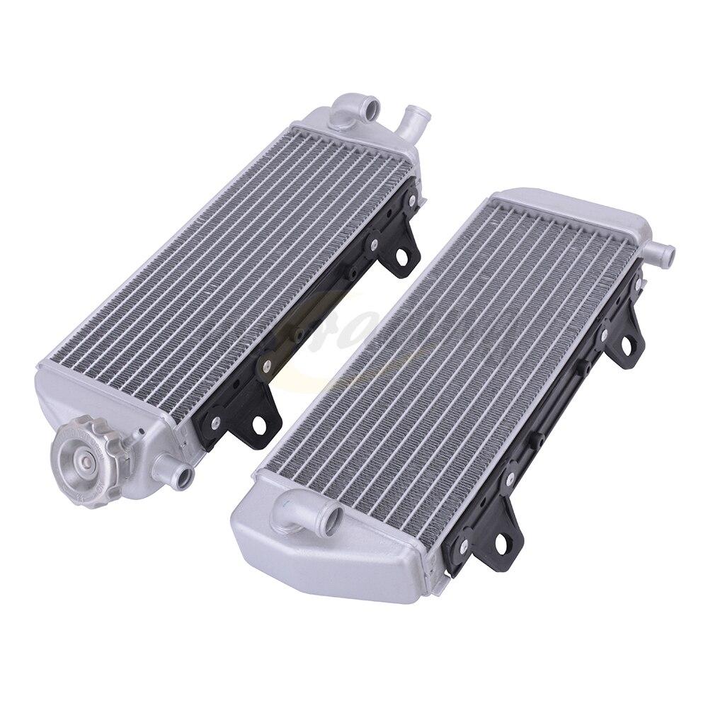 Tanque de Água Do Radiador da motocicleta De Refrigeração Cooler Para KTM SX SXF XCW SX XC XCF 125-450 16-18 EXCF 150 250 300 350 450 500 2017-2018