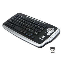Mini Wireless Mouse Keyboard 3 In 1 2.4G Wireless Keyboard / Air Mouse / Smart Tv Remote Controller Ergonomic Gaming Keyboard