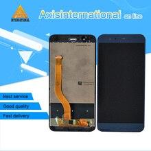"""5.7 """"Axisinternational עבור Huawei Honor V9 כבוד 8 פרו Duk L09 Duk Al20 Lcd מסך תצוגת מגע Digitizer פנל מסגרת"""