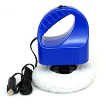 12V 42W Electric Car Polisher Waxing Polishing Machine Kit Automation Cleaning Car Buffing Car Accessories ABS Plastic Black цена
