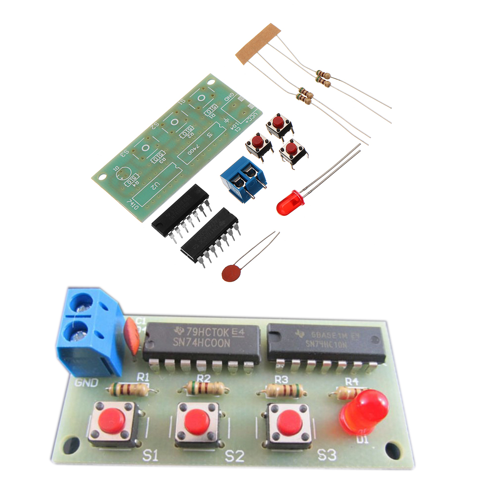 NEW DIY Three Person Voter Module Kit DIY Electronic Production