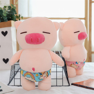 Плюшевые животные, милая свинка, плюшевые игрушки, пляжные шорты, свинка, мягкая игрушка, мягкие игрушки, Мультяшные животные, кукла для детей, семья, вечерние, рождественский подарок