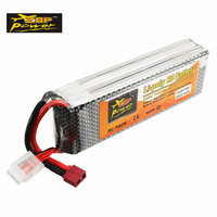 ZOP Power 14.8V 5000mah 50C 4S Lithium Lipo Battery T Plug chargeable for RC Quadcopter FPV Racing Drone Car Boat DIY Multirotor