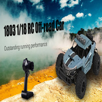 1803 1/18 2.4G Remote Control Off road 20km/h High speed 4 Channels RC Car USB Charging Crawler Car for Children Gift