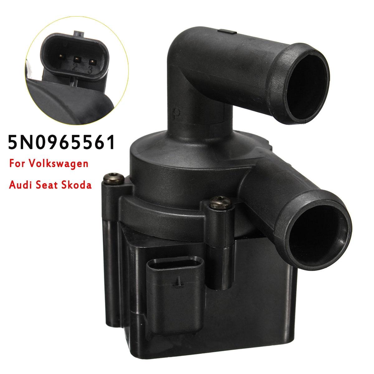 Pompe à eau auxiliaire de liquide de refroidissement 5N0965561 pour Volkswagen pour siège Audi pour Skoda Passat