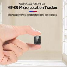 GF-09 Remote Listening Magnetic Mini Vehicle GPS Tracker Real Time Tracking Device WiFi+LBS+AGPS Locator APP Mic Voice Control gt001 mini magnetic gps tracker locator car vehicle real time tracking system device gps locator