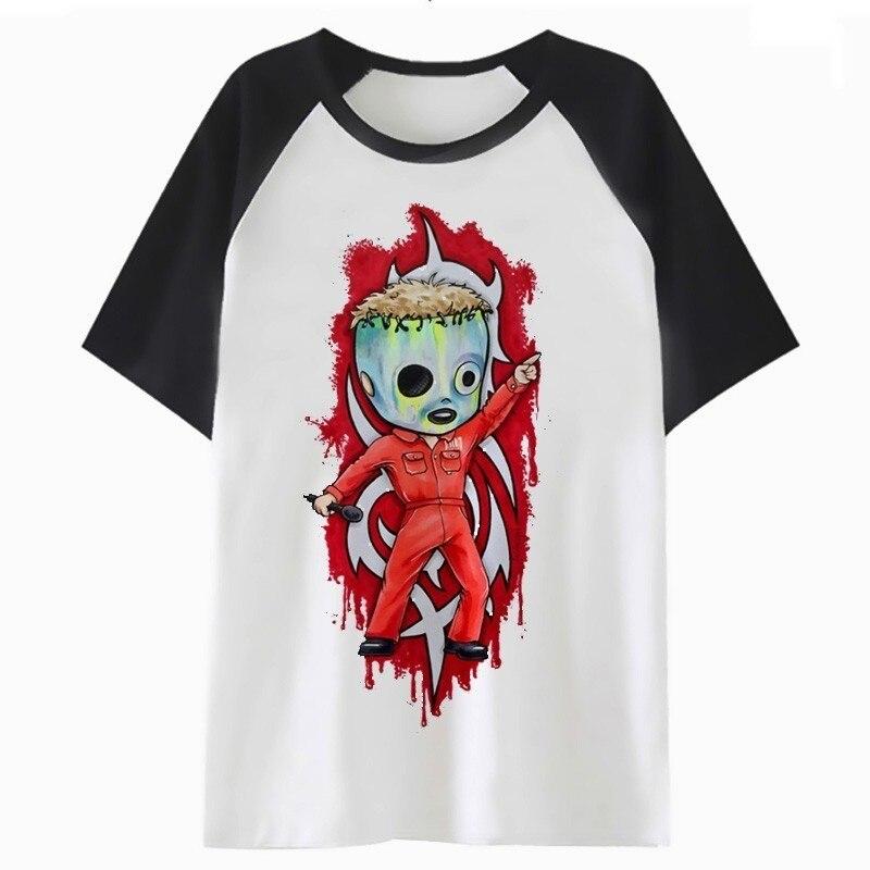 slipknot   t     shirt   for hop funny tshirt   t  -  shirt   top hip streetwear harajuku clothing male men tee
