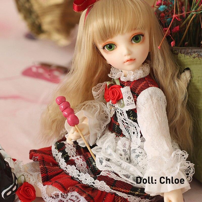 1 6 BJD Doll Littlefee Fullset Chloe Ante Shue Bisou Include Wig Clothes Shoes Socks Ect