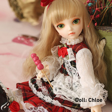 1/6 Doll BJD Littlefee Fullset Chloe Ante Shue Bisou Include Wig Clothes Shoes Socks Ect Children Gifts be with you potato fullset bjd sd dolls yosd littlefee luts 1 6 resin figures ball joint toys wig shoes eyes clothes bwy