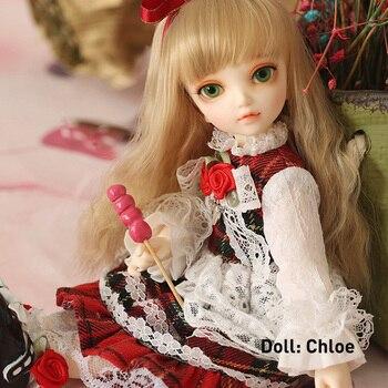 1/6 Doll BJD Littlefee Fullset Chloe Ante Shue Bisou Include Wig Clothes Shoes Socks Ect Children Gifts маска для волос bisou bisou bi023lwaxao4