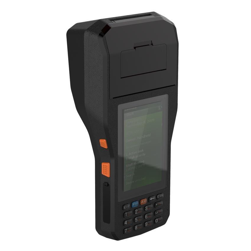 android 6 0 os 80 milimetros impressora de etiquetas com 1d 2d barcode scanner leitor rfid