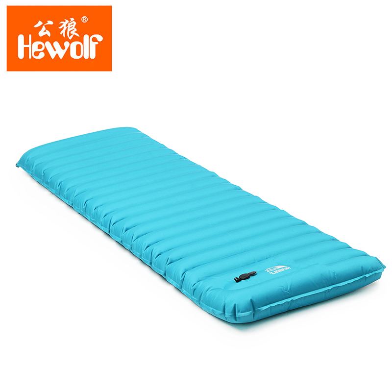 Hewolf Outdoor Lightweight Inflatable Air Mat Incoming Summer Swimming Wonder Inflator Mattress