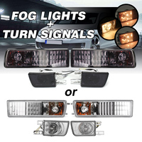 12V 21W Car Lens Fog Light Turn Signal Light Lamp For Volkswagen VW Jetta Golf MK3 1993 1998 Car Styling H3 Fog 7507 Signal ligh