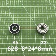 2021 Real New 10 stücke/lot 628 628zz 628rs 628-2z 628z 628-2rs Zz Rs Rz 2rz Rillenkugellager lager 8X24 8mm Abec-5 8*24*8mm