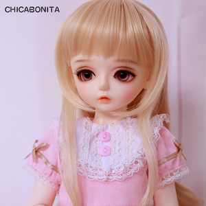 OUENEIFS Karen Chicabonita BJD SD Doll 1/4 Body Model Baby Girls Boy Shop Dollhouse Resin Furniture