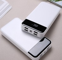 Fast Charge Power Bank 20000 MAh 2 USB Portable Charger PowerBank 18650 External Battery for IPhone for Xiaomi PoverBank