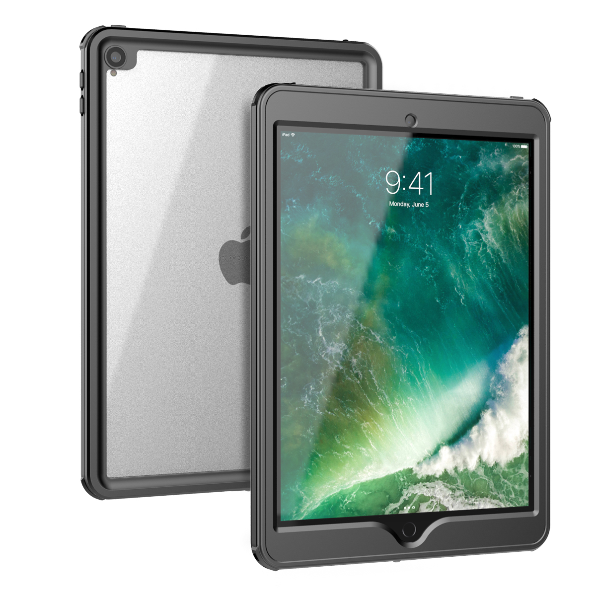 For IPad Air 2019 Waterproof Case Underwater 360 Full Protection Clear Shockproof Cover For IPad Air 3 2019/ IPad Pro 10.5 Case
