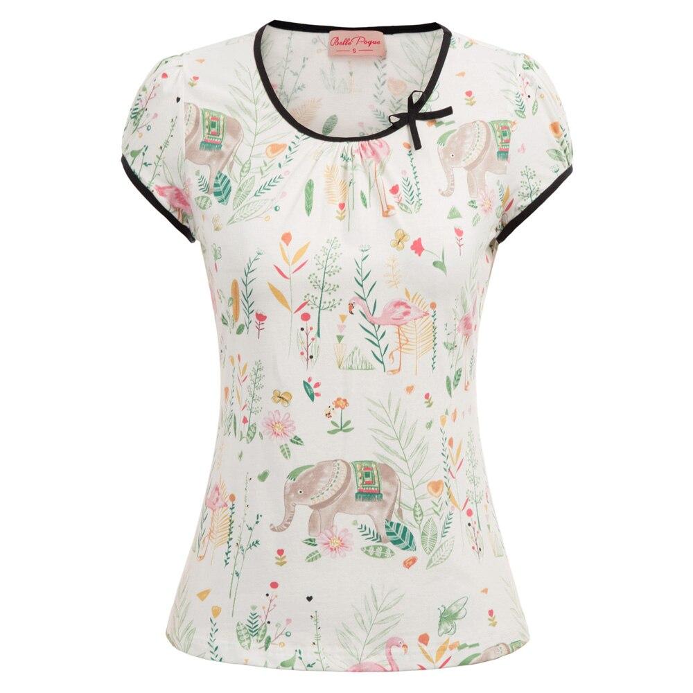 Womens Butterfly Print Short Sleeve Boho Hippie Summer Casual Tops T-Shirt