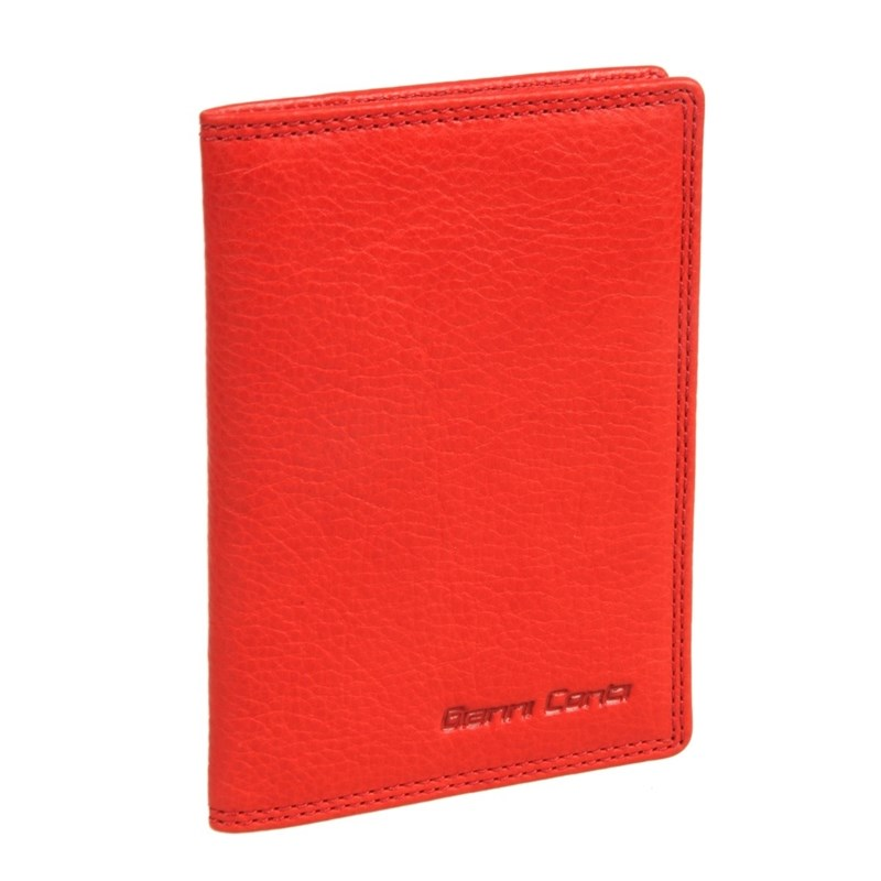 Passport cover Gianni Conti 787455 coral hot overseas travel accessories passport cover luggage accessories passport card energy