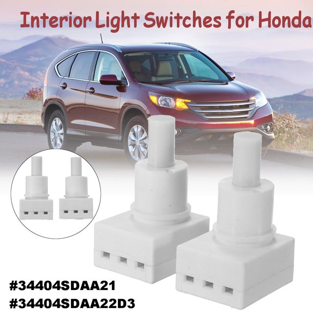 Interior Dome Light Lamp Switch Fit For Honda Accord Cr V Element Odyssey Pilot 34404 Sda A21 34404sdaa22 34404sdaa2