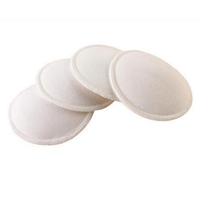4 piezas almohadillas reutilizables lavables para lactancia materna a prueba de fugas Anti desbordamiento para mujeres embarazadas sujetador almohadilla mamá