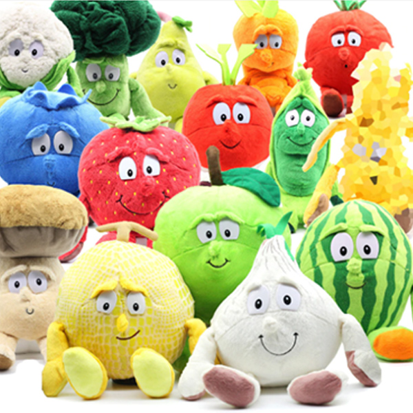 1Pcs Fruit Vegetables Soft Plush Toy Stuffed Doll Cute Gift For Children Kids Support Wholesale And Dropshipping