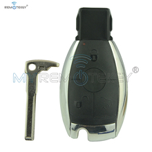 Remtekey  smart key case shell cover 3 button for Mercedes-Benz car S SL ML SLK CLK E keyless entry Benz