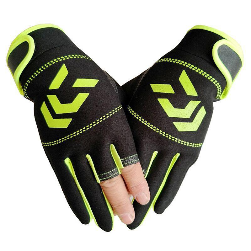 Image 4 - Outdoor Breathable Fishing Gloves Non Slip Protection Against Stab Wounds 3 Fingers High Quality Fishing Sport Waterproof Gloves-in Fishing Gloves from Sports & Entertainment