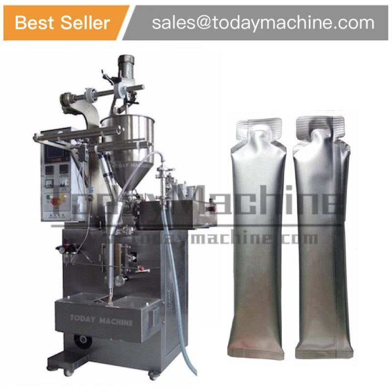 Liquid sachet packing machine for hair dye lotion honey beverage jelly shampoo bath cream milk pouch bag filling machine in Pneumatic Tools from Tools