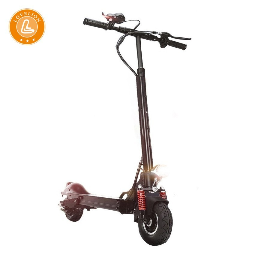LOVELION adult Electric Fold Portable scooter 18650 Li on Battery Driving 48KM/H power Skate Vehicle longboard kick scooters|Electric Scooters| |  - title=