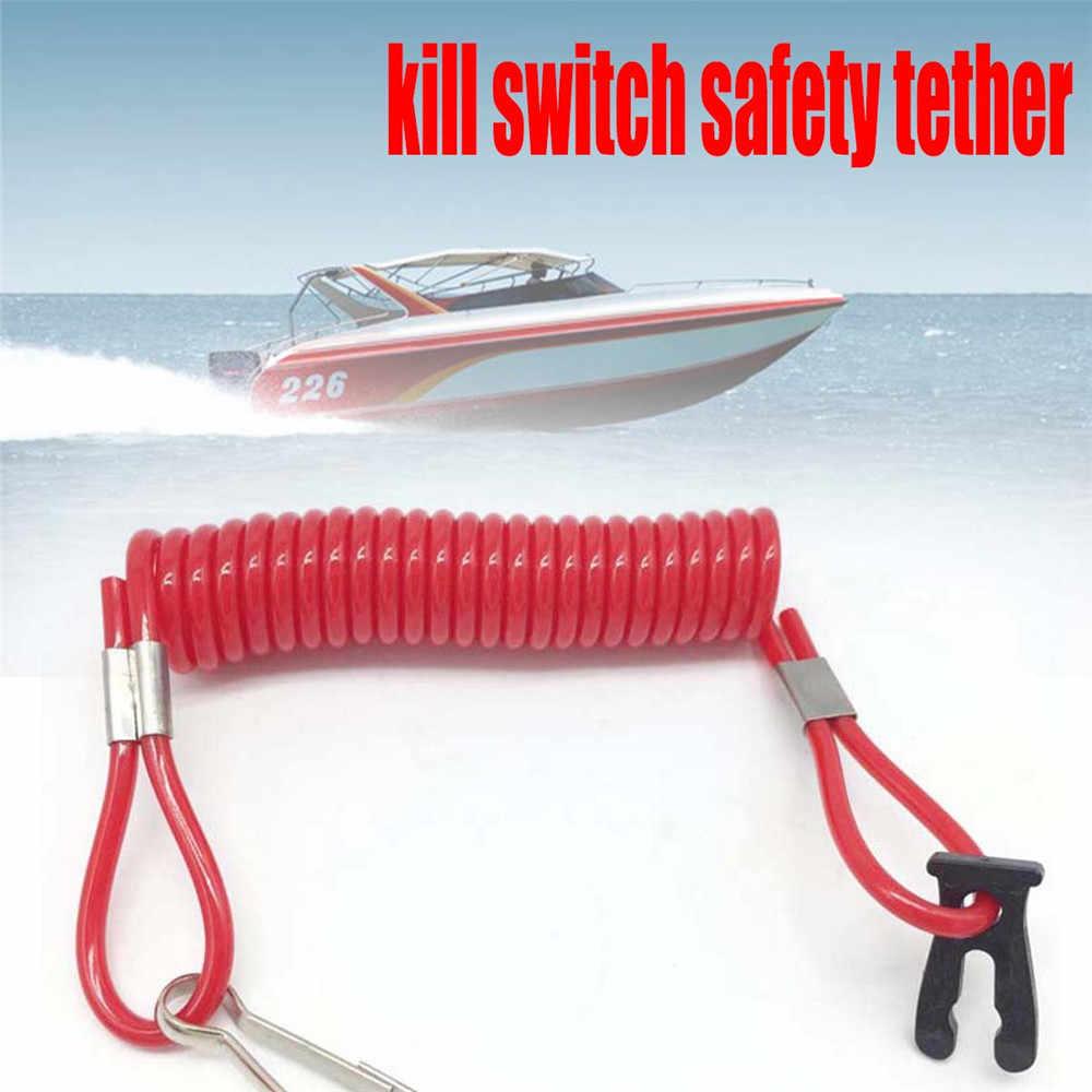 Kill Switch Safety Tether Red USA Standard for Suzuki