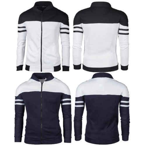 Новый модный мужской жакет зимняя тонкая Толстовка Теплый свитшот на молнии с капюшоном стильный пиджак Повседневная мужская куртка пальто