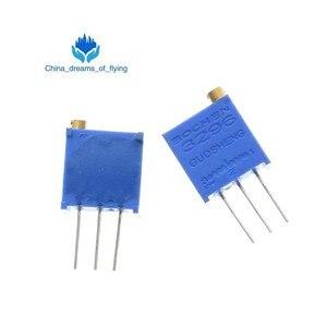 1Pack 100pcs 3296W 1k 2k 5k 10k 20k 50k 100k 200k 500k 1M 1ohm Trim Pot Trimmer Potentiometer Type For Arduino