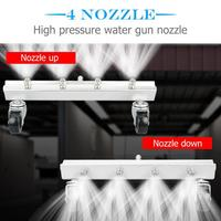 High Pressure Car Chassis Washer Undercarriage Cleaner Sector Nozzle Automobile Car Chassis Wash Under Body Cleaner Car Wash Kit