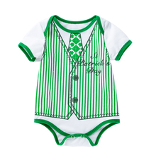 Newborn Toddler Baby Boys Girls Rompers Cartoon Jumpsuit For Infant Boys Girls Short Sleeve Cotton Clothing Unisex Clothes 3pcs rompers hat pants baby boys girls clothing set cute cartoon animal toddler jumpsuit infant cotton long sleeve kids clothes