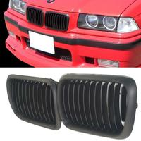 Black Kidney Front Grilles Grill Fit For BMW E36 3 series M3 318i 323i 328i 1997 1999