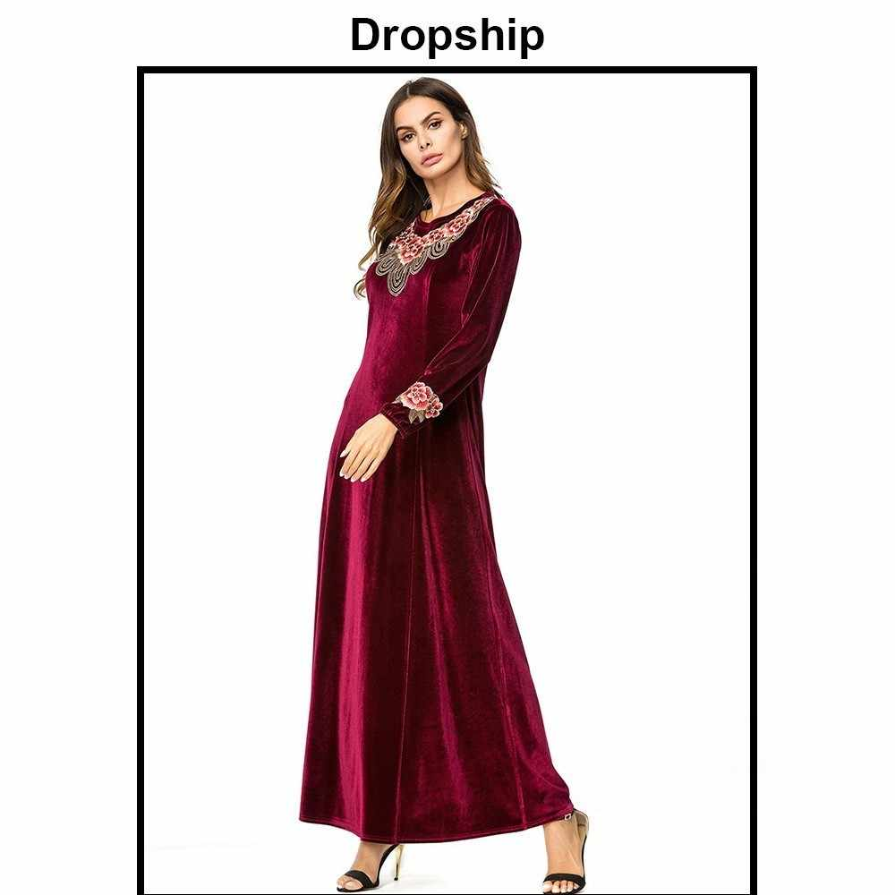 bdf3c8e9883b ... Dropship Dress Women Dresses Long Maxi Plus Size Vestidos Vintage  Verano 2019 Robe Femme Slim Patchwork ...