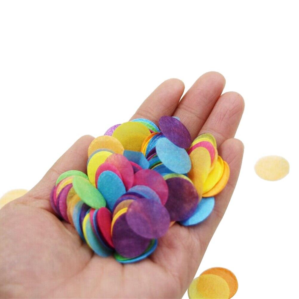 10000pcs:  10000pcs Multicolor Circle Paper 2.5cm Confetti for Party Wedding Decorations Table Confetti Arts DIY toys - Martin's & Co