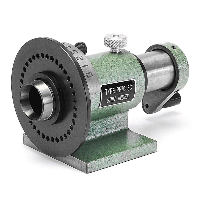 New 5C Precision Spin Index Fixture Collet 235 x 110 x 134 mm For CNC Milling