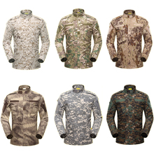 303ae26e 9Color Military Uniform Tactical Combat Shirt for Men Long Sleeve Army  Camouflage Outdoors Training Clothing Pant · 9 Colors Available