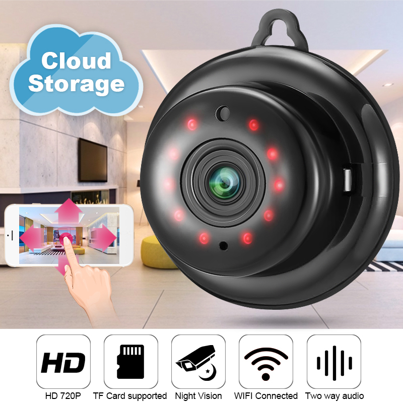 DIGOO HD 1080P Mini wifi IP Camera Cloud Storage For Home Security Surveillance Camera CCTV Night Vision Baby Pet MonitorDIGOO HD 1080P Mini wifi IP Camera Cloud Storage For Home Security Surveillance Camera CCTV Night Vision Baby Pet Monitor