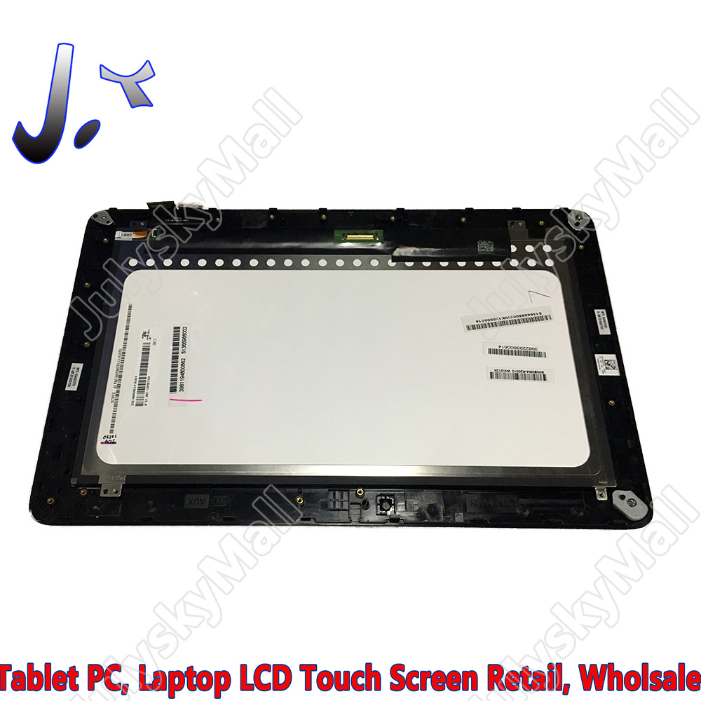 For ASUS Transformer Book T200TA T200T T200 touch screen + flat panel display LCD + frame (touch surface with large scratches)