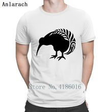 db1b4f0385a Nz киви серебристый папоротник птица Новый зеландская футболка  проектирование уличная забавная Повседневная футболка для Для мужчин