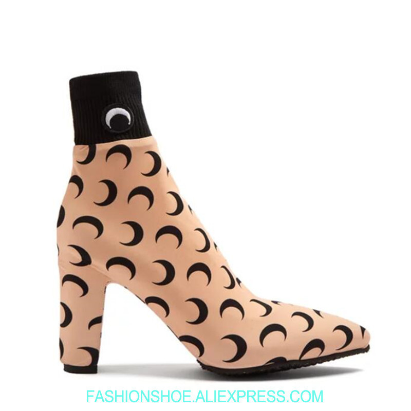 Marque Chaussette Stretch as Cool Chunky Bottines As Talons shtrQdC
