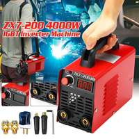 10 200A 4000W Portable Handheld Mini MMA IGBT Inverter 220V Mini Electric ARC Welding Welder Machine Tool
