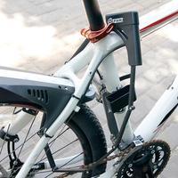 Folding Bicycle Lock Bike Lock Alloy Steel Foldable Chain Lock Security Motorcycle Anti theft Lock Anti hydraumatic Cycling Part