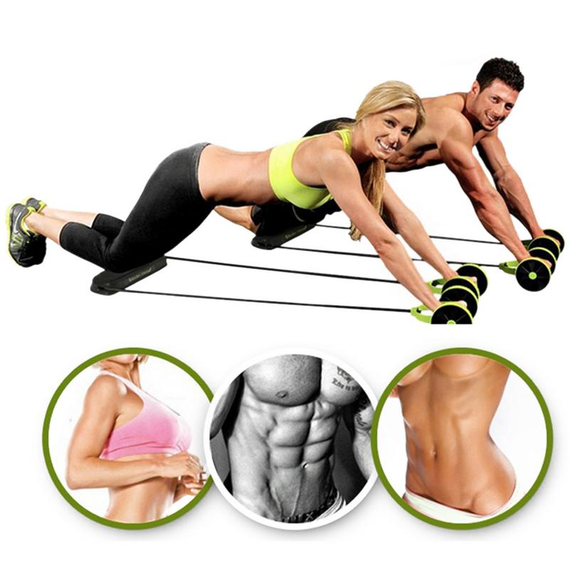 Abdominal Wheel Home Abdominal Muscle Wheel Fitness Wheel Roller Mute Drawstring Multi function Slimming Abdominal Device in Ab Rollers from Sports Entertainment