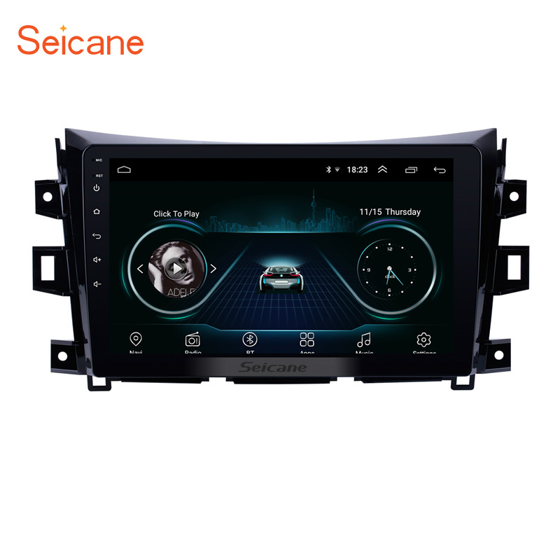 Seicane Car Radio For 2011 2012 2013 2014-2016 Nissan NAVARA Frontier NP300 Android 8.1 10.1 inch 2Din 3G GPS Multimedia PlayerSeicane Car Radio For 2011 2012 2013 2014-2016 Nissan NAVARA Frontier NP300 Android 8.1 10.1 inch 2Din 3G GPS Multimedia Player